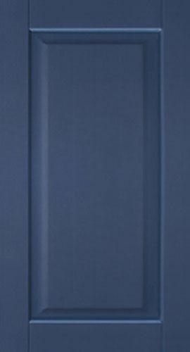 Фасад прямой - синий