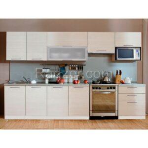 фото: Кухонный гарнитур Виктория со шкафом под микроволновую печь