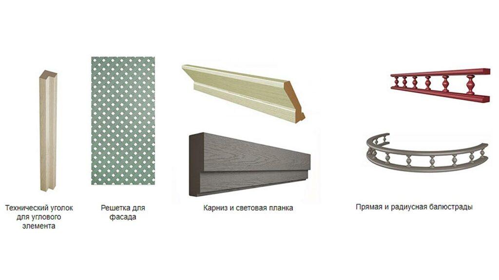 Дополнительные элементы оформления кухонного гарнитура